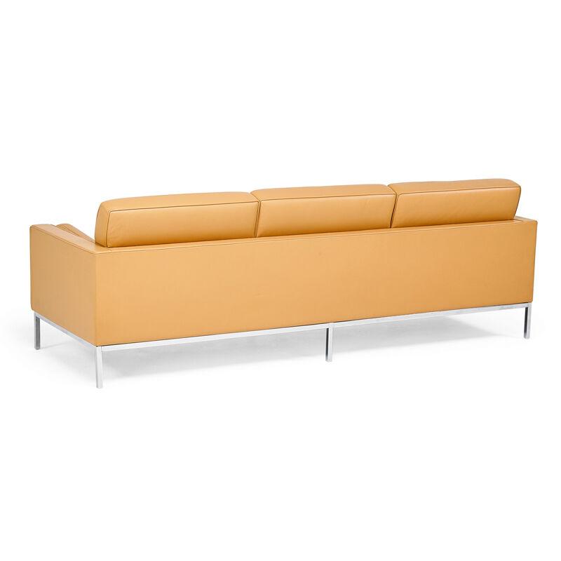 Florence Knoll, 'Sofa, New York', 2002, Design/Decorative Art, Chromed steel, leather, Rago/Wright