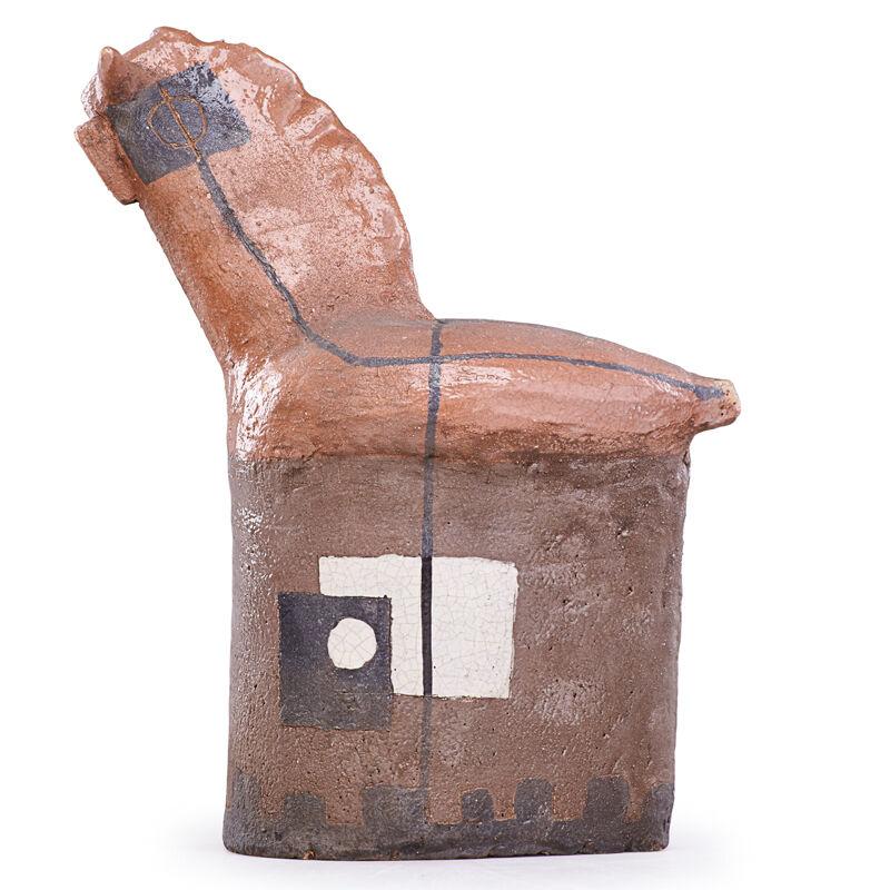 Zonzadella, 'Sculpture, Italy', mid-20th C., Sculpture, Glazed Earthenware, Rago/Wright