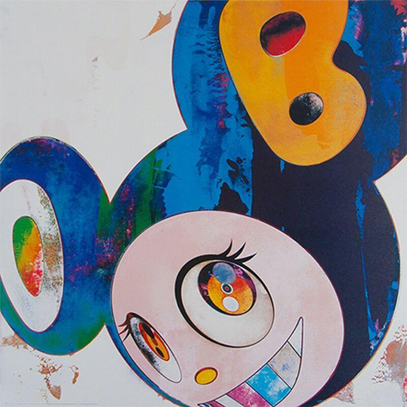 Takashi Murakami, 'And Then Cream', 2013, Print, Offset lithograph, Cerbera Gallery