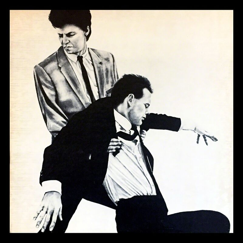 Robert Longo, 'Robert Longo Men In The Cities vinyl record art', 1981, Print, Offset lithograph, Lot 180