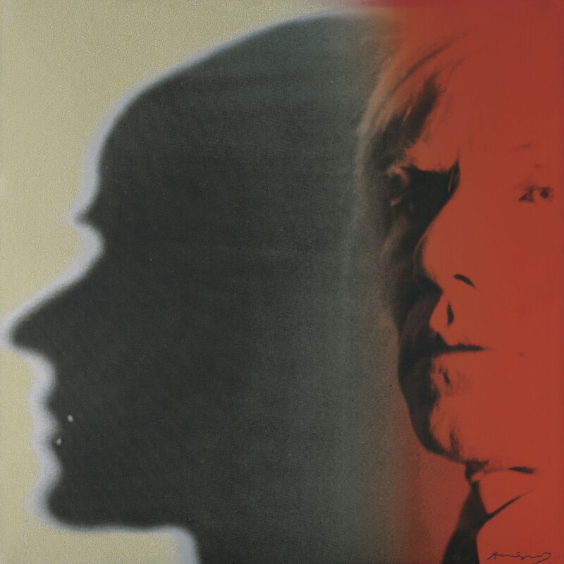 Andy Warhol, 'The Shadow, from Myths', 1981, Print, Screenprint in colours, on Lenox Museum Board, Zeit Contemporary Art