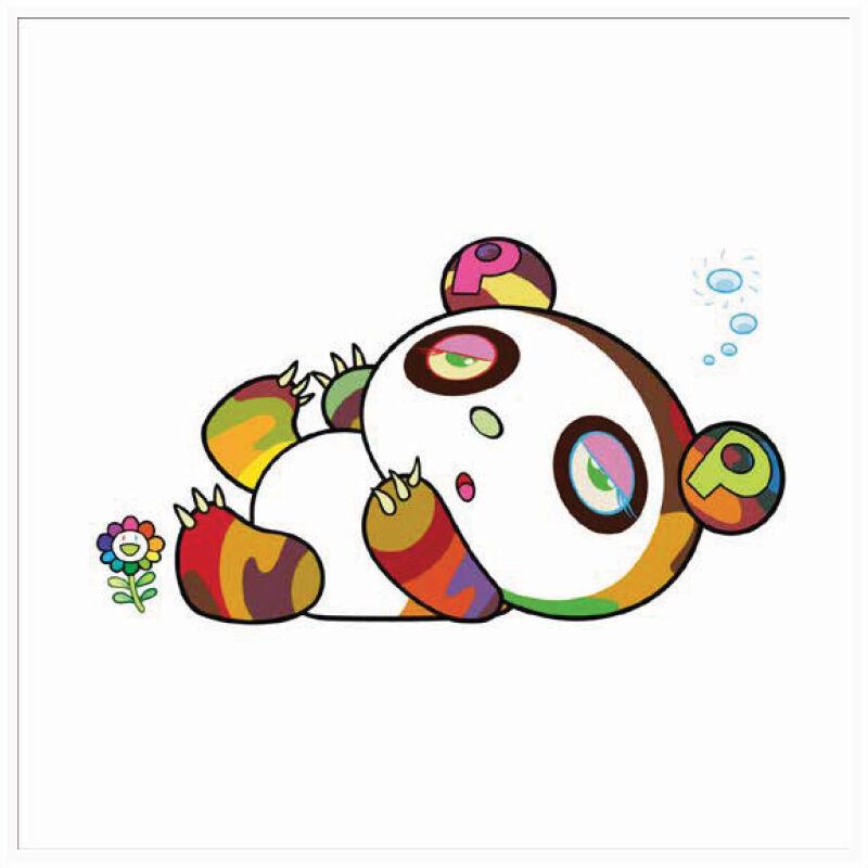 Takashi Murakami, 'Panda is sleepy AND SLEEPY', 2020, Print, Silkscreen on Paper, Marcel Katz Art