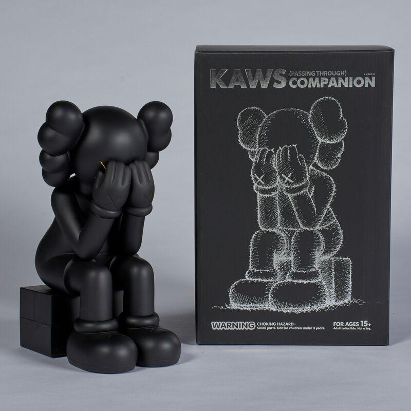KAWS, 'Passing Through (Black)', 2013, Sculpture, Cast vinyl, Doyle