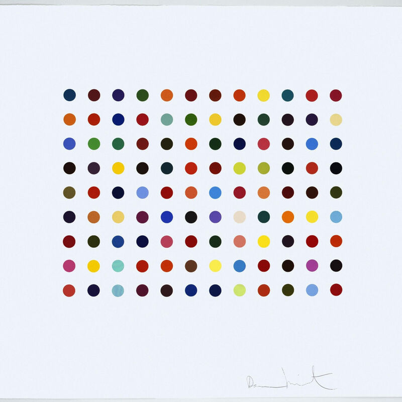 Damien Hirst, 'Damien Hirst, Doxylamine', 2010, Print, Aquatint etching on 350 gsm Hahnemuhle paper, Oliver Cole Gallery