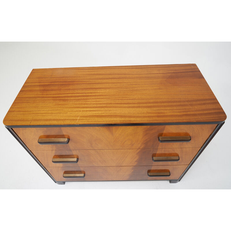 Donald Deskey, 'Dresser, USA', 1930s, Design/Decorative Art, Mahogany, Rosewood, Enameled Wood, Brass, Rago/Wright/LAMA
