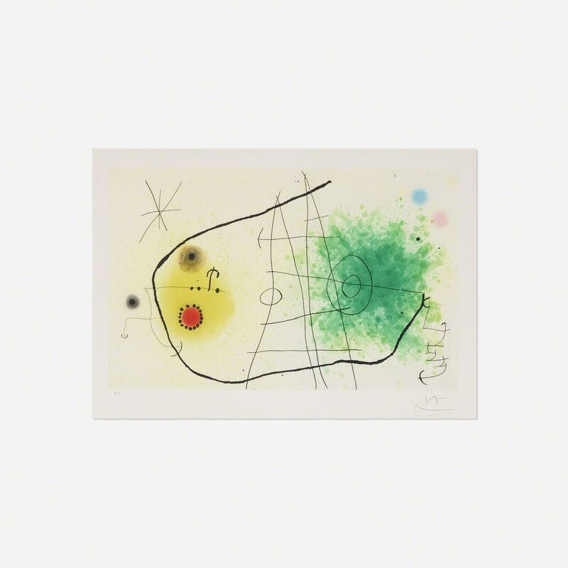 Joan Miró, 'Partie de Campagne I', 1967, Print, Etching with aquatint on Mandeure wove paper, Rago/Wright