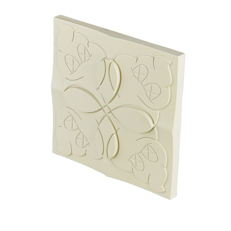 KAWS, 'OriginalFake Store Tile (white)', 2006, Sculpture, Ceramic tile, Rago/Wright