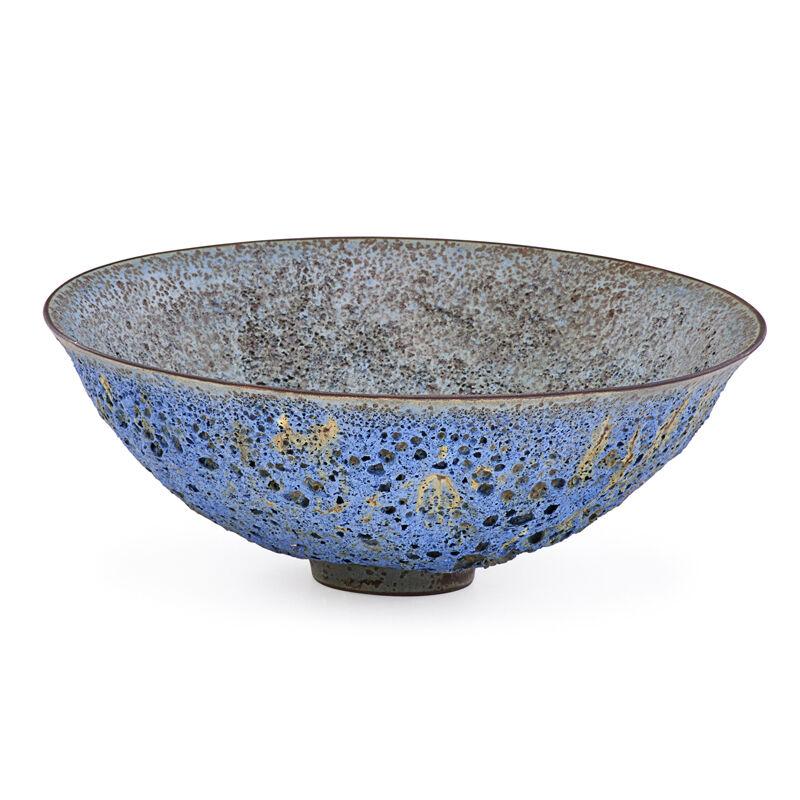 James Lovera, 'Small Bowl, San Francisco, CA', Design/Decorative Art, Purple Volcanic Glaze, Rago/Wright