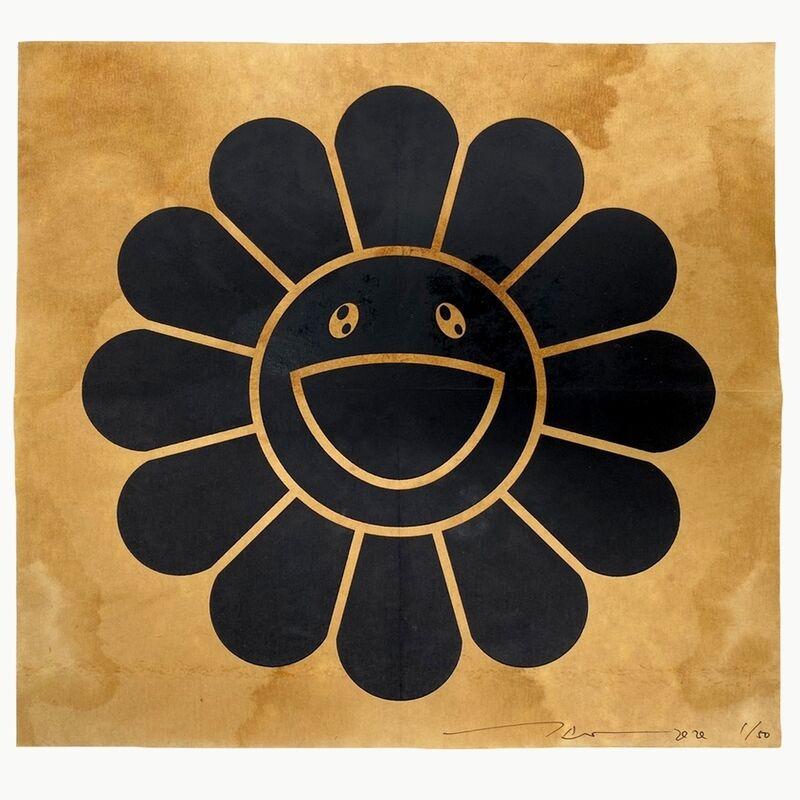 Takashi Murakami, 'COFFEE BLUES, BLACK', 2020, Print, Silkscreen on paper filter, Dope! Gallery