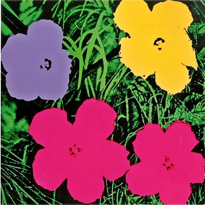 Andy Warhol, 'Flowers (Galerie Sonnabend)', 1970, Ephemera or Merchandise, Silkscreen on smooth card. Postmarked. Unframed., Alpha 137 Gallery