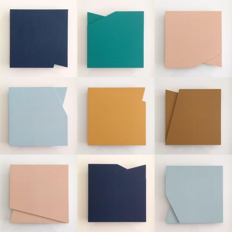 Laura Jane Scott, 'Form 20, Set 2', 2019, Sculpture, MDF and Interior Paint, Kittoe Contemporary