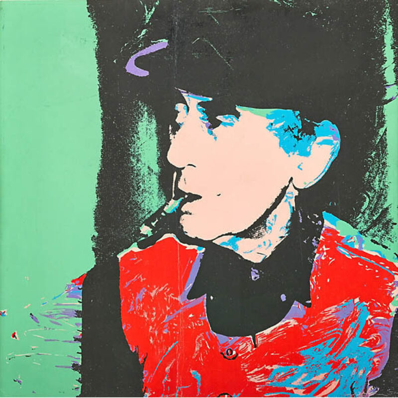 Andy Warhol, 'Man Ray', 1974, Print, Color screenprint on paper, RestelliArtCo.