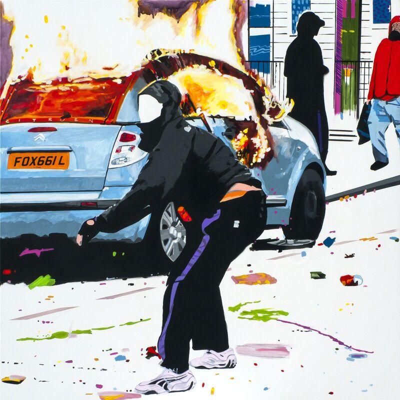 Stuart Semple, 'CHILDREN OF THE REVOLUTION', 2015, Painting, Acrylic on canvas, Fabien Castanier Gallery