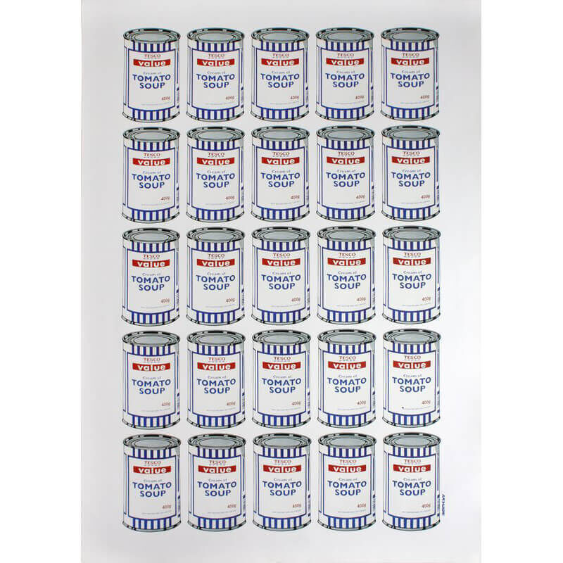 Banksy, 'Soup Cans', 2007, Print, Offset lithograph printed in colours on thin wove paper, Lougher Contemporary