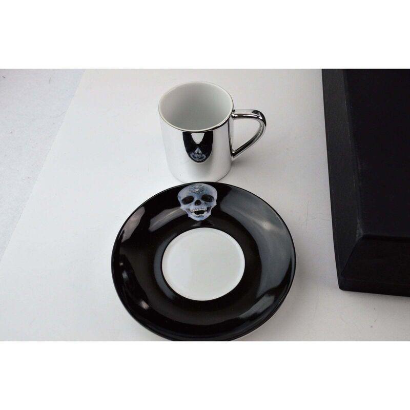 Damien Hirst, 'HIRST ANAMORPHIC EXPRESSO CUPS SET X6', 2012, Design/Decorative Art, Porcelain, Arts Limited