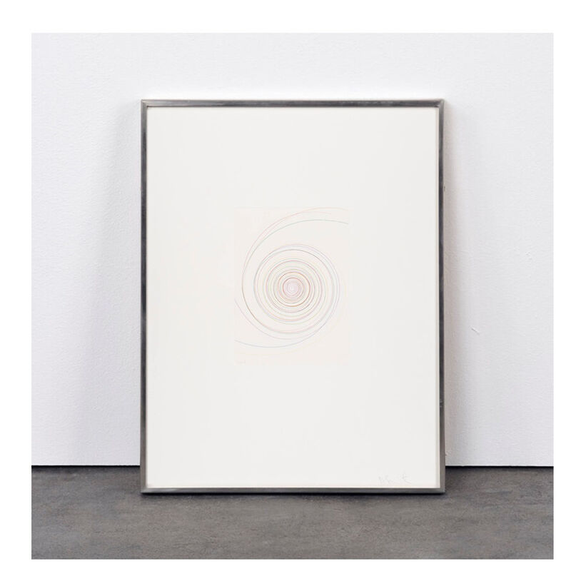 Damien Hirst, 'Billy Mill Roundabout (from In a Spin, the Action of the World on Things, Volume I)', 2002, Print, Etching in  color, Weng Contemporary