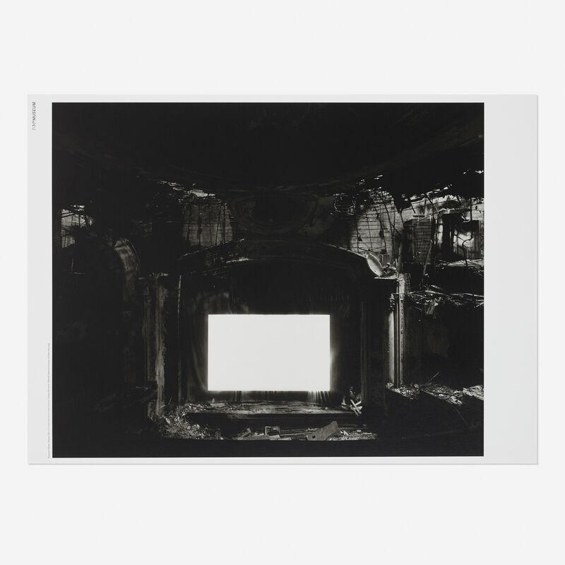 Hiroshi Sugimoto, 'Lost Human Genetic Archive at Tokyo Photographic Art Museum', 2016, Print, Offset lithograph, Rago/Wright/LAMA