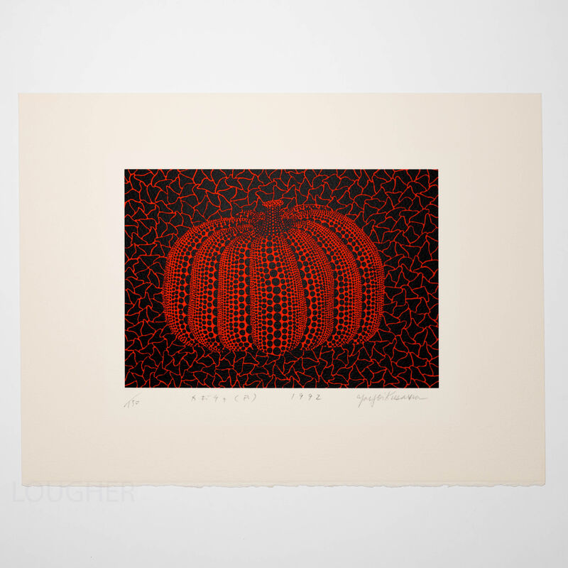 Yayoi Kusama, 'Pumpkin (R)', 1992, Print, Screenprint, Lougher Contemporary