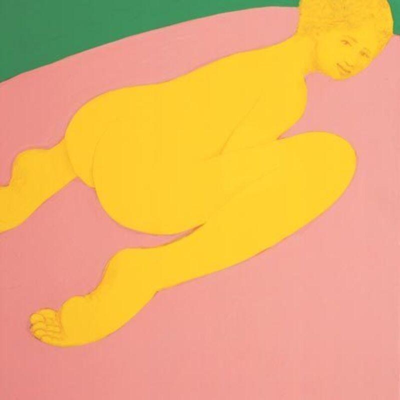 Piero Passacantando, 'Bather #7', 2016, Painting, Acrylic on panel, Uprise Art