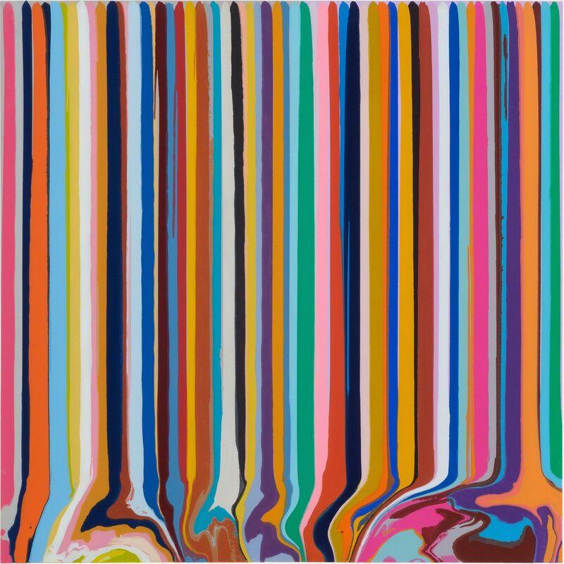 Ian Davenport, 'Duplex Etching: Grey, Lavender ', 2014, Print, Royal Academy of Arts