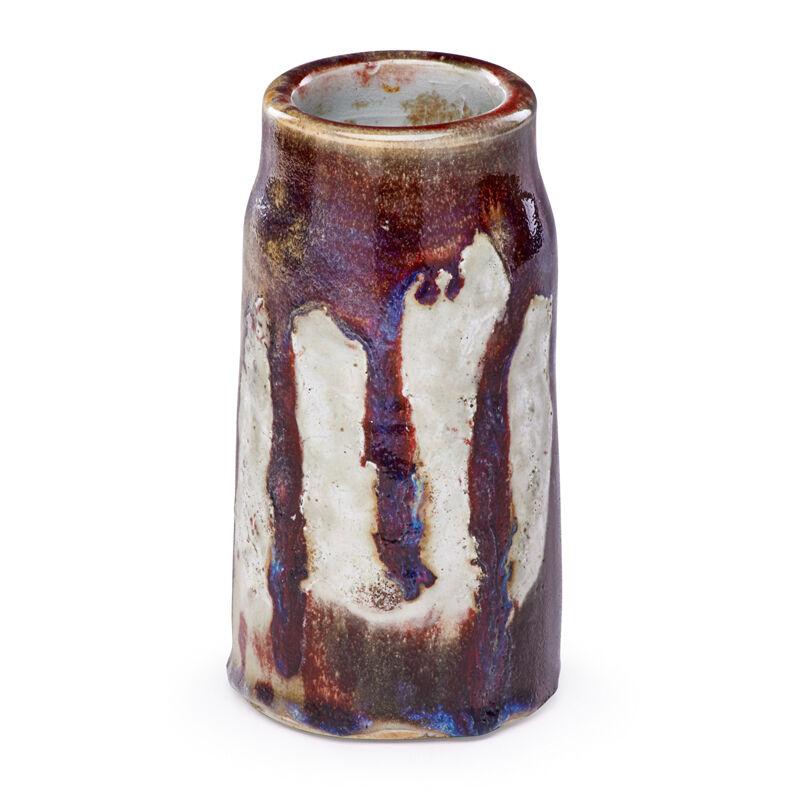 Ernest Chaplet, 'Cylindrical Oxblood Vase, France', Late 19th C., Design/Decorative Art, Glazed Stoneware, Rago/Wright/LAMA