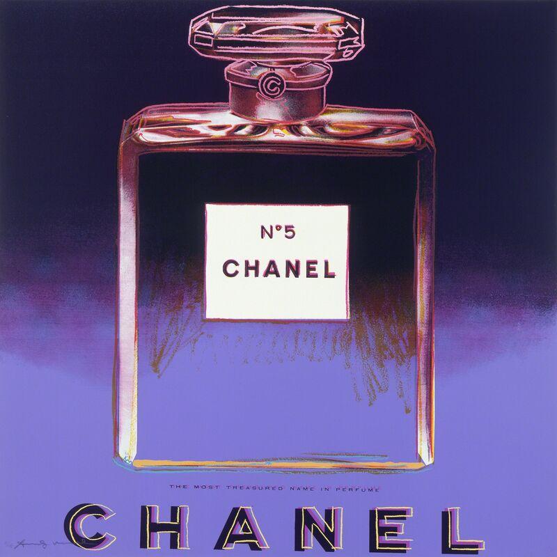 "Andy Warhol, 'Chanel from ""Ads"" portfolio', 1985, Print, Screenprint on Lenox Museum Board; Publisher: Ronald Feldman Fine Arts, Ronald Feldman Gallery"