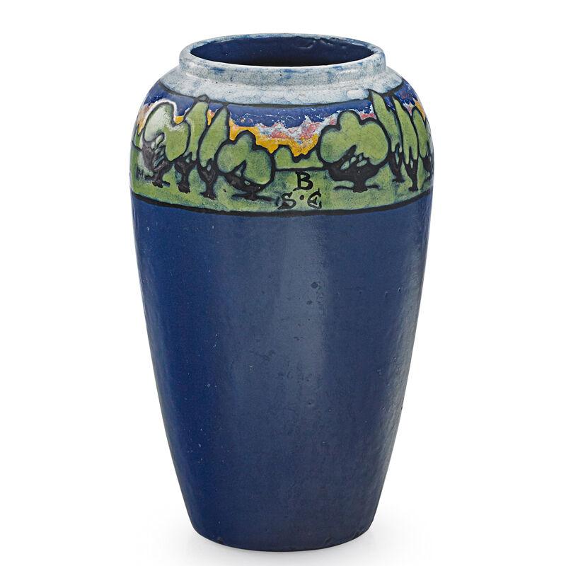 Saturday Evening Girls, 'Tall Vase, Boston, MA', 1930, Design/Decorative Art, Tall Vase, Rago/Wright