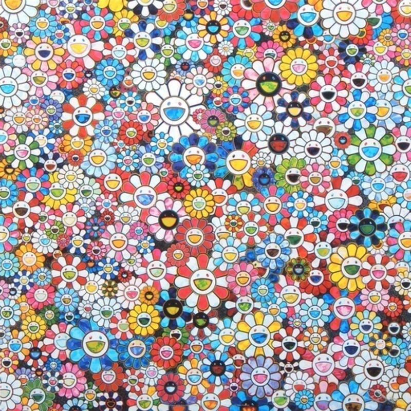 Takashi Murakami, 'The Future Will Be Full of Smile for Sure!', 2012, Print, Offset lithograph in colors on smooth wove paper, Lougher Contemporary