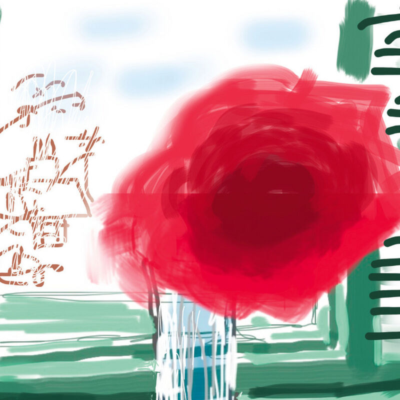 David Hockney, 'No. 281, 23rd July, 2010-2019 ', 2019, Print, 8-colour inkjet print on cotton-fiber archival paper (iPad drawing), Weng Contemporary