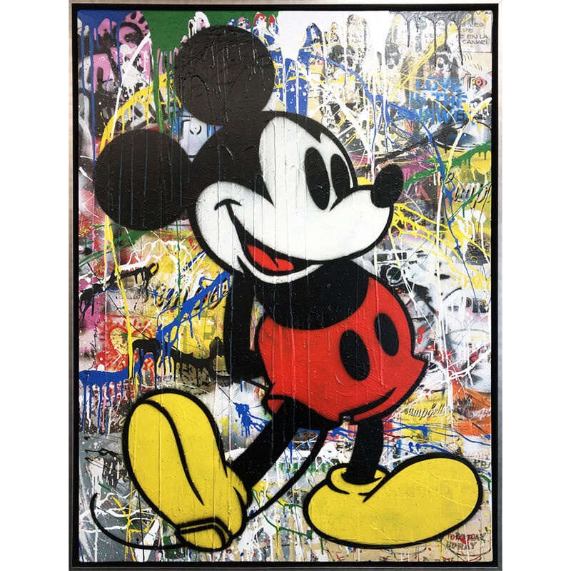 Mr. Brainwash, 'Mickey', 2016, Painting, Acrylic on Canvas, AND COLLECTION CONTEMPORARY ART