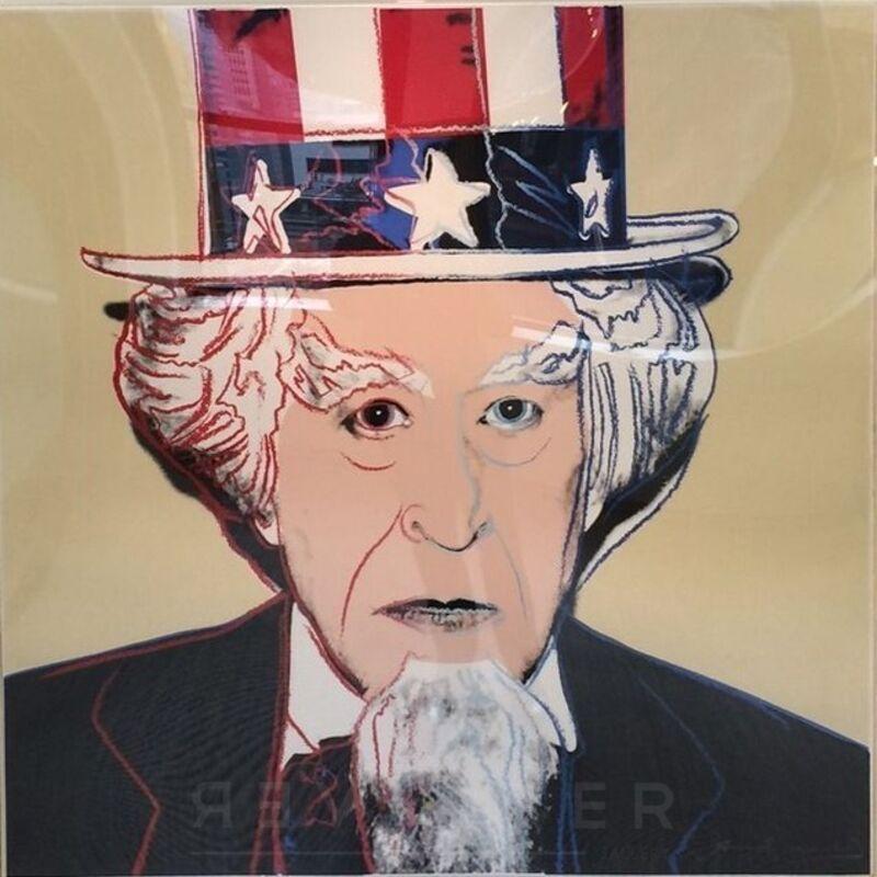 Andy Warhol, 'Uncle Sam (FS II. 259)', 1981, Print, Screenprint on Lenox Museum Board, Revolver Gallery
