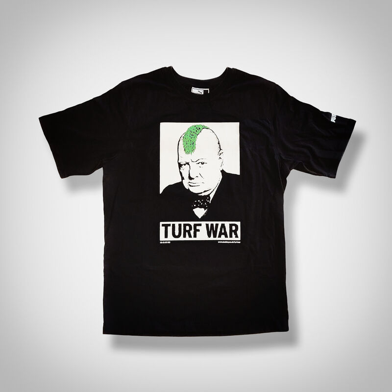 Banksy, 'Turf War', 2003, Fashion Design and Wearable Art, Limited edition T-Shirt, manufactured by Puma, released at Banksy Turf War Exhibition, Tate Ward Auctions