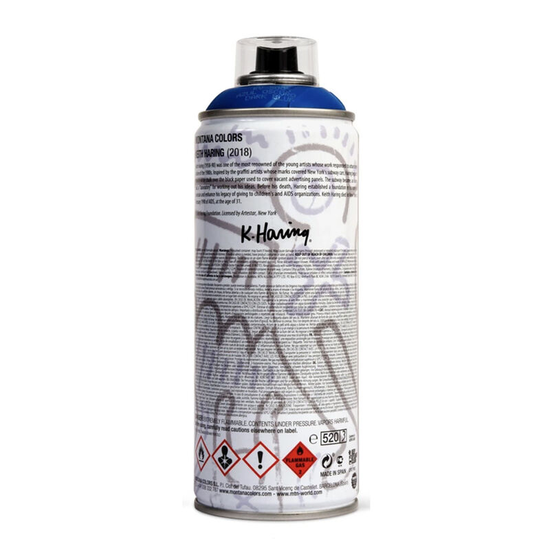 Keith Haring, 'Limited edition Keith Haring spray paint can ', 2018, Ephemera or Merchandise, Offset lithograph on metal spray paint can, Lot 180