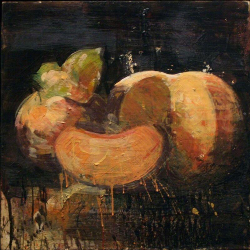 Tony Scherman, 'About 1789: Robespierre', 1997, Painting, Encaustic on canvas, Winston Wächter Fine Art