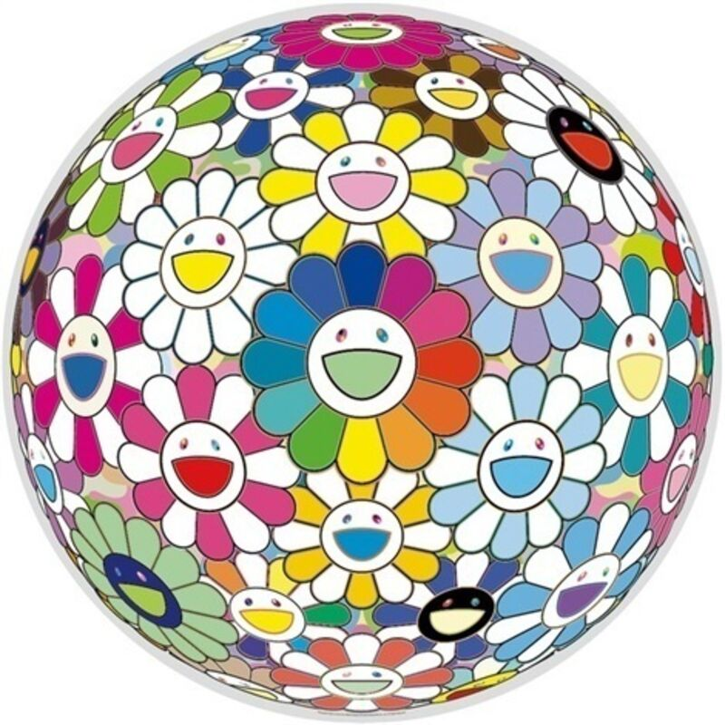Takashi Murakami, 'Flowerball (Want to Hold You)', 2015, Print, Offset lithograph, Lougher Contemporary