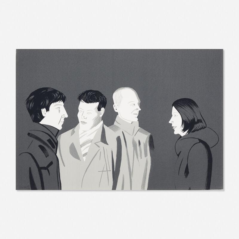 Alex Katz, 'Unfamiliar Image', 2001, Print, Screenprint in colors on Hahnemuhle paper, Rago/Wright/LAMA