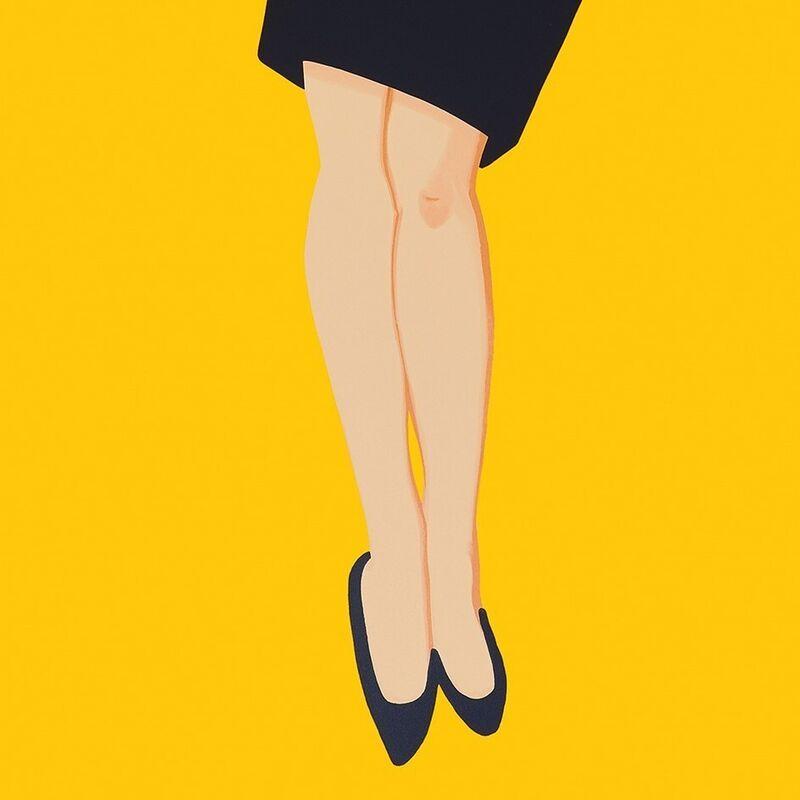 Alex Katz, 'Black Dress (Sharon)', 2015, Print, Silkscreen, Weng Contemporary
