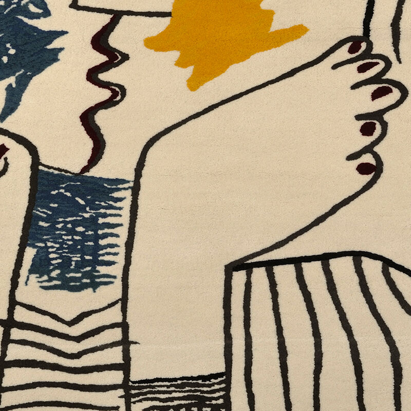 Pablo Picasso, 'Le Baiser', 1979/1980, Textile Arts, Wool Tapestry, Weng Contemporary