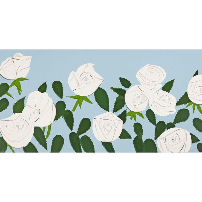 Alex Katz, 'Alex Katz, White Roses', 2014, Print, Silkscreen, Oliver Cole Gallery