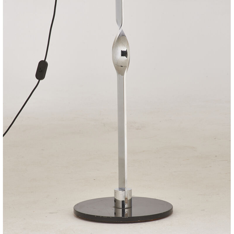 Reggiani, 'Adjustable Floor Lamp, Italy', 1950s, Design/Decorative Art, Enameled and chromed steel, single socket, Rago/Wright