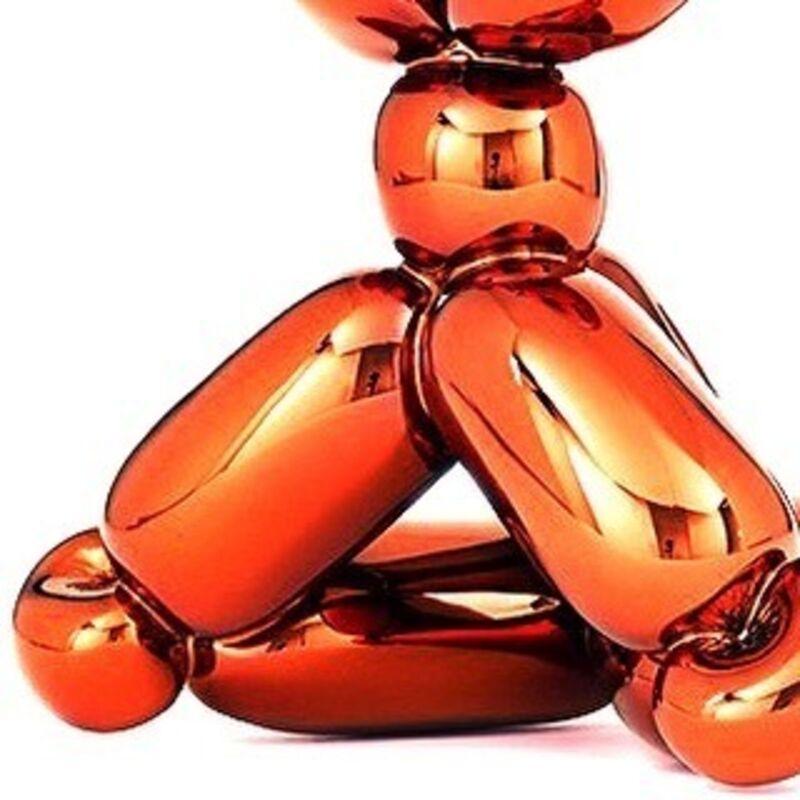 Jeff Koons, 'Balloon Monkey ( Orange )', 2019, Sculpture, French Limoges porcelain with chromatic coating, AbrahamArt