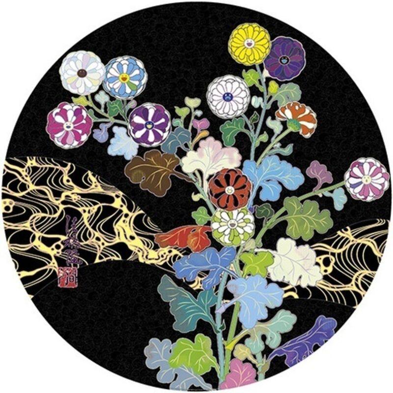 Takashi Murakami, 'KANSEI: WILDFLOWERS GLOWING IN THE NIGHT', 2014, Print, Offset Lithograph, Marcel Katz Art