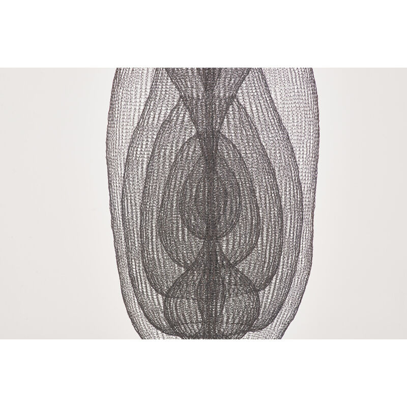 D'Lisa Creager, 'Long Untitled Hanging Sculpture (0717-02), California', Design/Decorative Art, Hand-woven copper wire, Rago/Wright