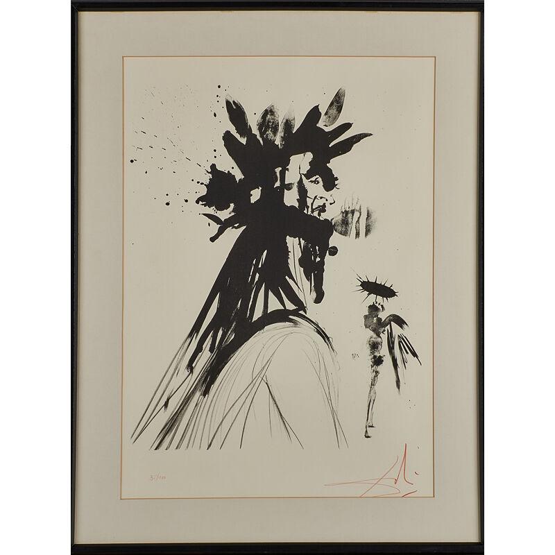 Salvador Dalí, 'Lithograph on BFK Rives, Dante', 1964, Print, Rago/Wright