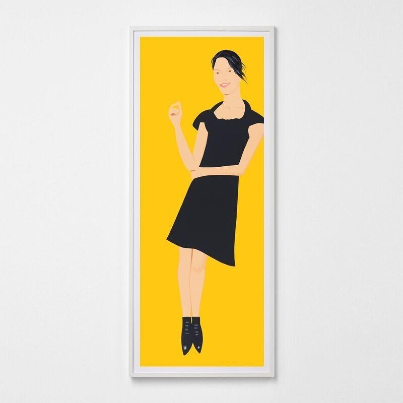 Alex Katz, 'Black Dress (Carmen)', 2015, Print, Silkscreen, Weng Contemporary