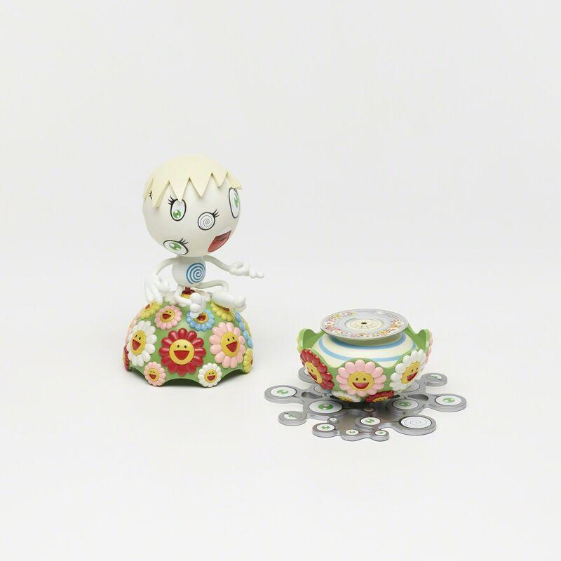 Takashi Murakami, 'Oval (Peter Norton Christmas Project)', 2000, Other, Colored plastic, vinyl, mini cd, Rago/Wright/LAMA