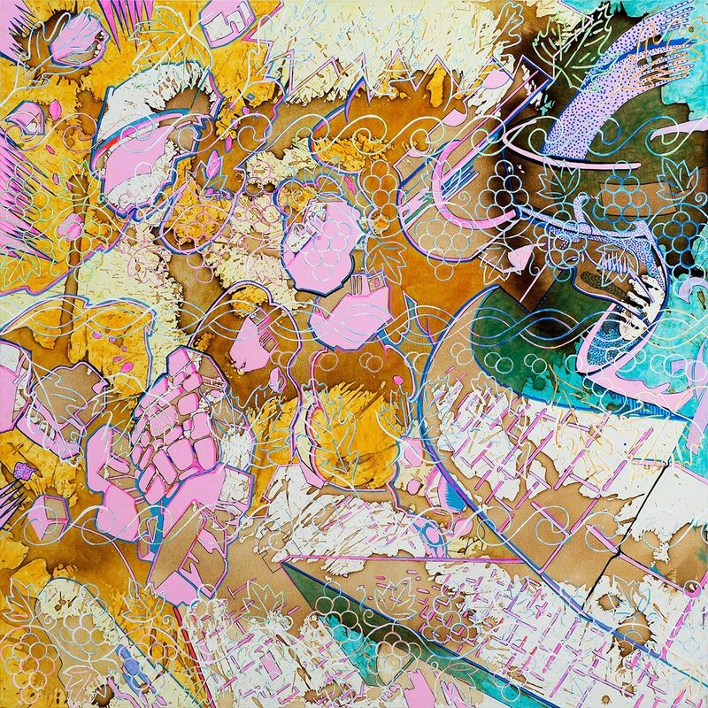 Barbara Strasen, 'Patterns Blast', 2011, Painting, Mixed Media, Ethos Contemporary Art