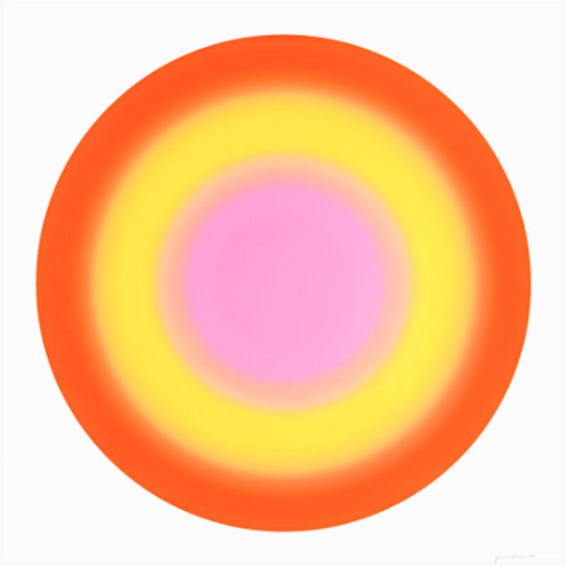 Ugo Rondinone, 'Ugo Rondinone, Sun 2', 2019, Print, Silkscreen on museum board, Oliver Cole Gallery