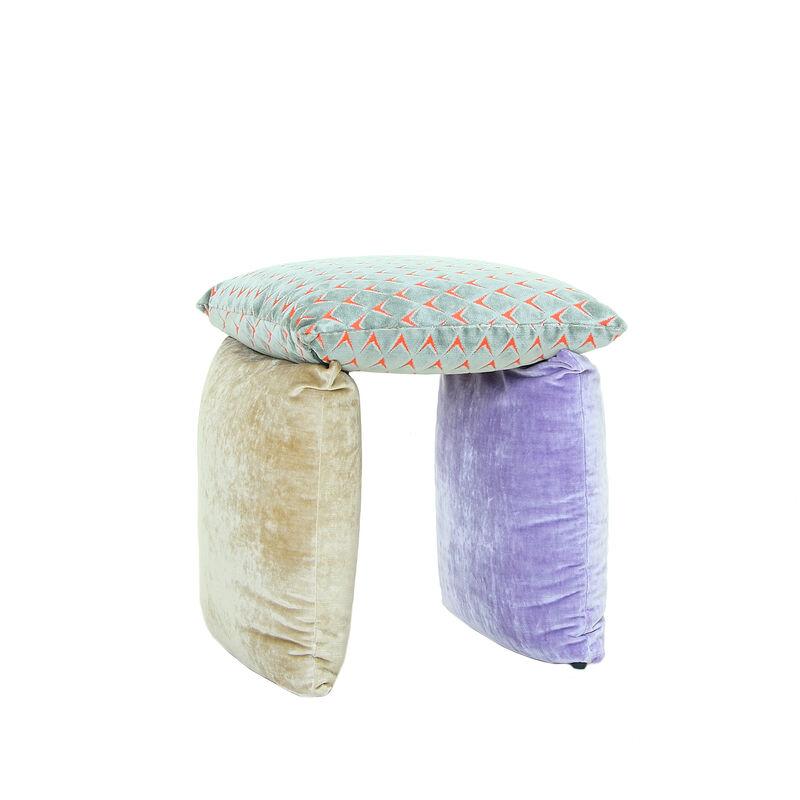 Andrea Anastasio, 'Pillow VII (Chair / Beige)', 2021, Design/Decorative Art, Dining chair, Moncler Benefit Auction