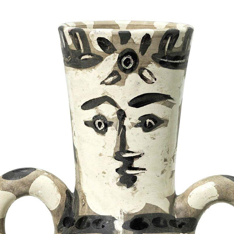 "Pablo Picasso, 'Picasso Madoura Ceramic Pitcher ""The King"" Vase deux anses hautes, Ramié 141', 1950-1959, Design/Decorative Art, Ceramic,Earthenware, Hirth Fine Art"